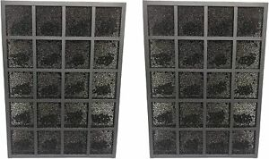 Carbon Filter For Sharp FZ-A80DFU Plasmacluster Air Purifier FP-A60UW, 2 Units