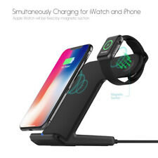 2 in 1 QI Wireless Fast Charger For iPhone X XS MAX 8 8 + For Apple watch 3/4