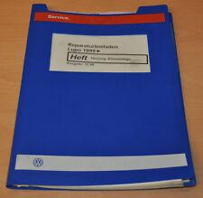 VW Lupo 1999 Heizung Klimaanlage Stand 12/99 Werkstatthandbuch Leitfaden