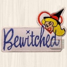 Bewitched Word Logo Patch TV Series Samantha Stephens Elizabeth Embroidered