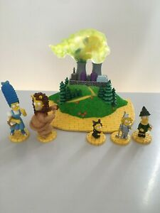 WIZARD OF OZ THE SIMPSONS RARE FIGURE THERE'S NO PLACE LIKE HOME COLLECTORS SET