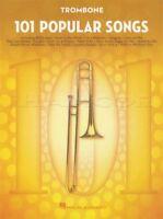 101 Popular Songs for Trombone Sheet Music Book Michael Jackson Billy Joel