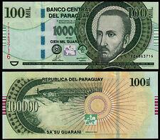 Paraguay 100000 guaraníes (P233c) 2011 UNC