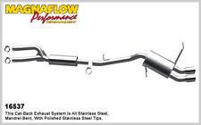 2006 BMW 325i L6 3.0L Dual Rear Magnaflow Cat-Back Exhaust System Muffler New