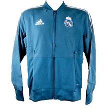 Real Madrid Mens 2019/20 Adidas Tracksuit Jacket (XXL)