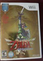 Legend of Zelda: Skyward Sword Bonus Edition New Sealed w/Large box - No Wiimote