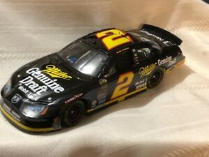 NASCAR Diecast 1/24 #2 Rusty Wallace Miller Genuine Draft MGD RETRO 2005 Charger