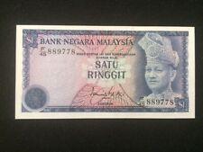 1972 Malaysia Rare 1 Ringgit  ( P 7 ) - UNC -