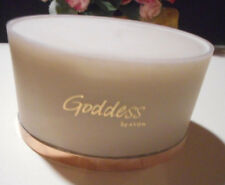 "Avon presents ""GODDESS"" shimmering dusting powder with puff 3.5 OZ. or 100g"