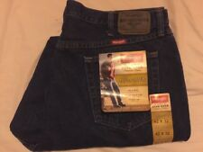 WRANGLER ORIGINAL FIT BLUE JEANS W42 L32, BRAND NEW WITH TAGS