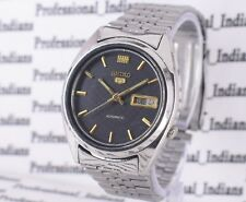 VINTAGE SEIKO 5 AUTOMATIC 21 JEWEL CAL.7019A DAY DATE MEN'S WRIST WATCH