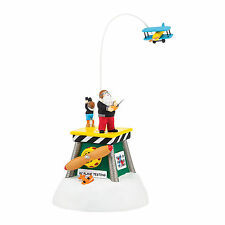 Department 56 North Pole Animated Test Flight Accessory New 4036549 2014 D56