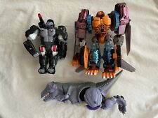 Transformers Beast Wars Loose Figure Lot Damaged Broken Incomplete For Parts