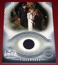 Buffy Vampire Slayer Men of Sunnydale by Inkworks Costume Card PW2 Xander Harris