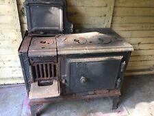 original cast iron kitchen range stove