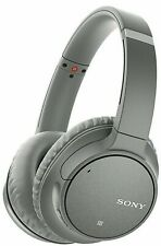 Sony Wireless Noise-Cancelling Headphones Wh-Ch700N/H Gray Over-Ear Headset