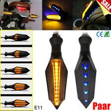 Paar Mini LED Motorrad Led Blinker Sequentiell Lauflicht Mit E11-Geprüft 12V DE