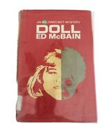 Doll by Ed McBain First Edition 1965 from Library HC DJ