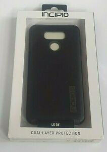 Incipio DualPro Series Case for LG G6 - Black