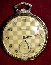 18K GOLD VINTAGE CHRONOMETER POCKET WATCH