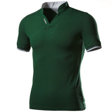 New Vogue Men's Stylish Casual T-Shirts Slim Fit Short Sleeve POLO Shirt Tops