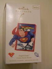 2008 Hallmark Keepsake Ornament Dc Superman Comic Book Heroes 1st in Series Mint
