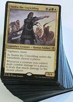 ***Custom Commander Deck*** Saskia the Unyielding EDH MTG Magic Cards Mint