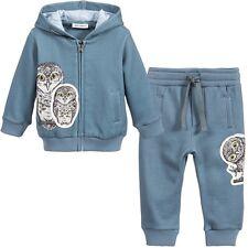 Dolce y Gabbana Bebé Cerceta Azul Búho Chándal 12-18 meses
