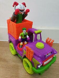 Imaginext DC Super Friends Joker Surprise Jack In The Box Truck Playset Figure
