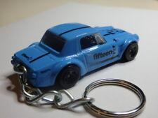 Hot Wheels Nissan Datsun Fairlady 2000 Keyfob Keychain Keyring