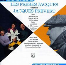 Les Fr res Jacques - Freres Jacques Chantent Jacques Prevert [New CD]
