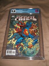 INFINITE CRISIS 5 CGC 9.8 WHITE PAGES 1ST APPEARANCE  NEW BLUE BEETLE KEY ISSUE