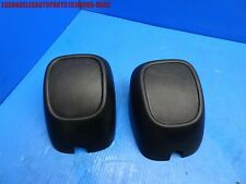 92-95 PORSCHE 968 REAR BUMPER GUARDS  PROTECTIVE RUBBER PADS BUFFERS OEM PAIR