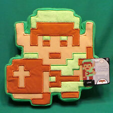 "World of Nintendo Link 8-Bit Plush 9"" Retro NES The Legend of Zelda Game Pillow"