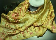 Foulard Etole 100% Soie Silk Seide Etole Scarf Carré 85cm * 85cm