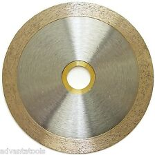 """4.5"""" PREMIUM Continuous Rim Wet Tile Diamond Saw Blade for Angle Grinders"""
