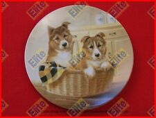 """Its a Dogs Life """"Paws For A Picnic"""" Collectors Plate by Knowles"""