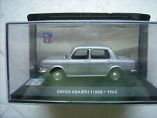 1/43 SIMCA 1000 ABARTH 1150S 1963