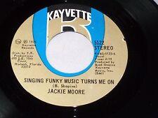 Jackie Moore: Singing Funky Music Turns Me On /Make Me Feel.. [new Unplayed ]