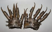 Gloves antique chinese bronze hand made old