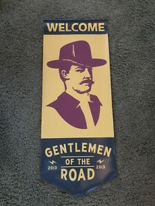 2013 Mumford & Sons GOTR Gentleman Of The Road Banner Banner Ad Flag Poster Sign