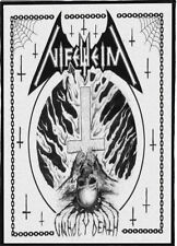 NIFELHEIM BACKPATCH / SPEED-THRASH-BLACK-DEATH METAL