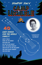 "Jumpin' Jim's ""CAMP UKULELE"" MUSIC BOOK-BRAND NEW ON SALE-UKE SONGBOOK-W/TAB"