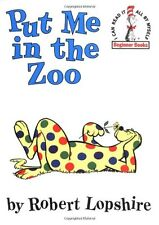 Put Me In The Zoo (hc) by Robert Lopshire Dr Seuss Beginner Books NEW