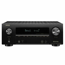 Denon AVR-X2500H 7.2-Channel 4K Receiver with Wi-Fi, Atmos, Airplay2 and Heos