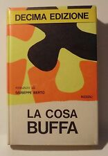 GIUSEPPE BERTO  - La cosa Buffa