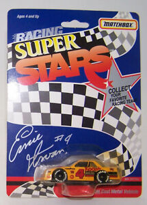 1991 Matchbox Racing Super Stars 1:64 ERNIE IRVAN #4 Kodak Chevy Lumina