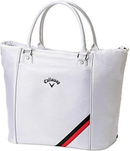 Callaway Tote Bag SPORT Men's 2021 Model Golf White Polyester Synthetic leather