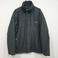 Australia Wallabies Rugby Union Grey Hooded Jacket Size Medium fits bigger