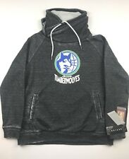 Minnesota Timberwolves Touch by Alyssa Milano Womens XL Pullover Hoodie Heather